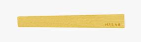 天然木 星 イエローハート(黄色)